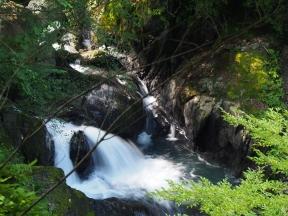 梅ケ島七滝 宝月の滝