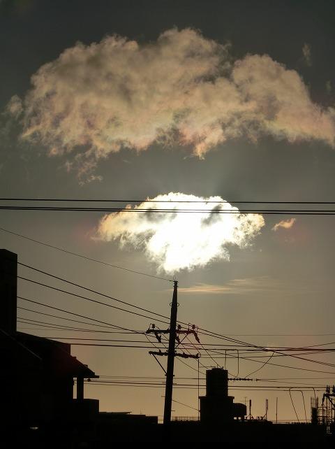 2015年5月15日撮影(ワンコに見える雲)
