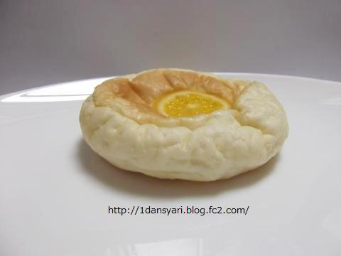 オレンジとチーズの車輪パン