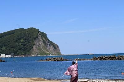 モイレ海水浴場海開き2015-07-17 (20)