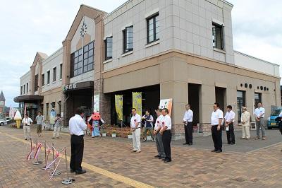 マッサンゆかりの町余市周遊モニターツアー 出発式 2015年7月25日 026