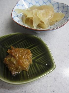 20150116 ガリと味噌