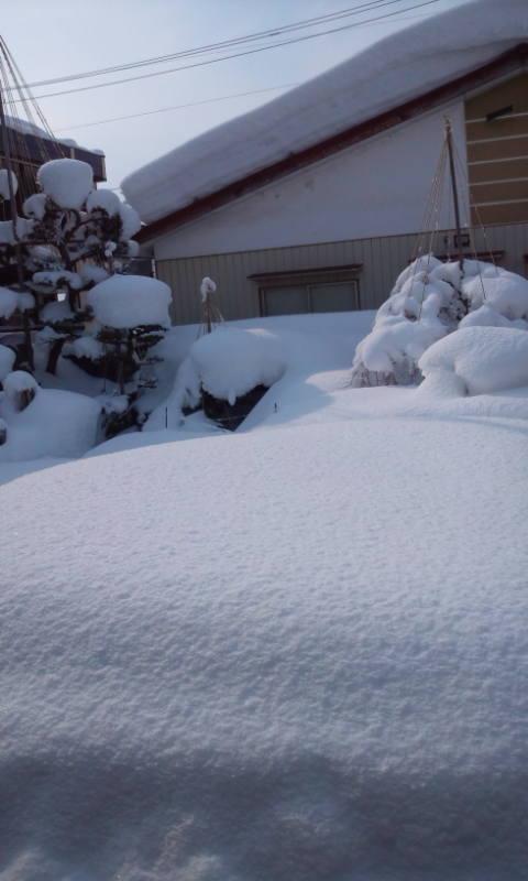 20150215喜多方の雪