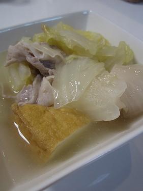 20150222 白菜漬鍋