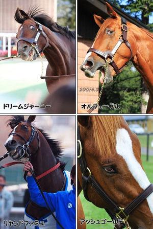 【競馬】リヤンドファミユ&アッシュゴールド 最下位兄弟