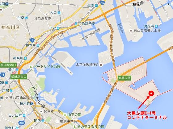大黒ふ頭C-4号コンテナターミナル