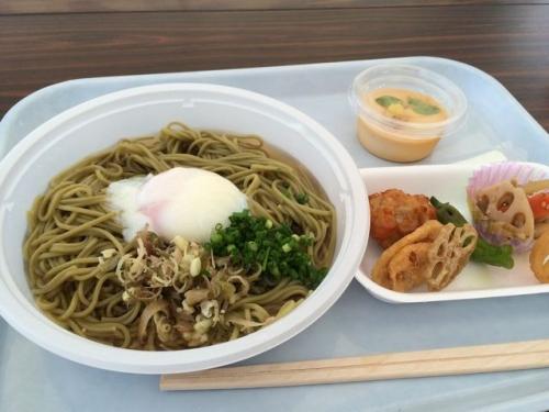 2015-08-02蓮麺セット