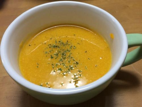 2015-08-16バターナッツカボチャのスープ