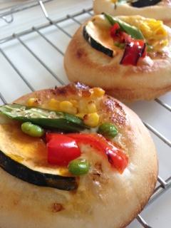 季節の野菜パン