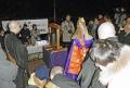 明け方の追悼集会