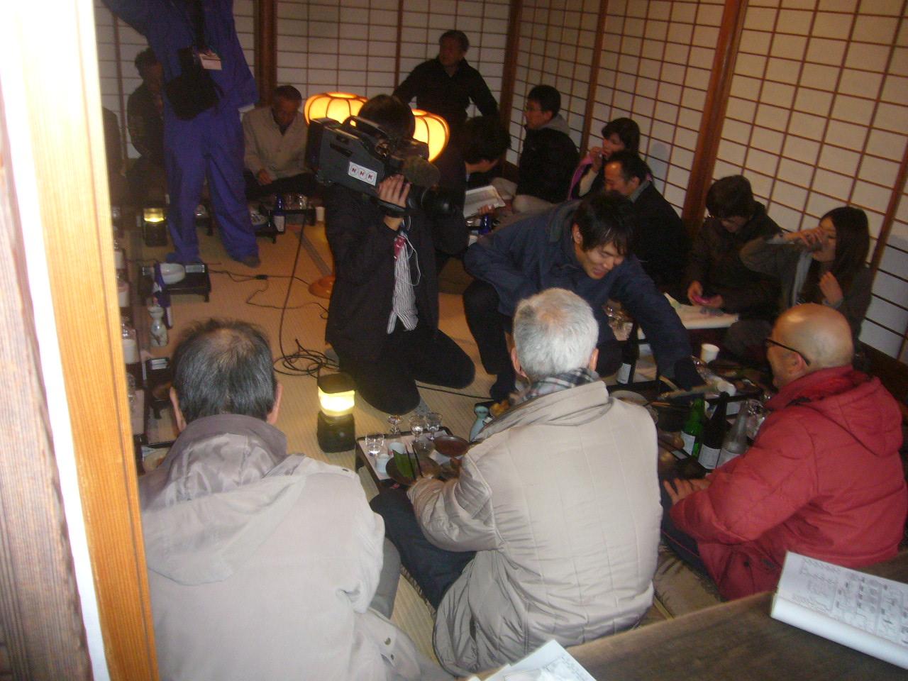 NHK撮影 27年2月8日養浩館