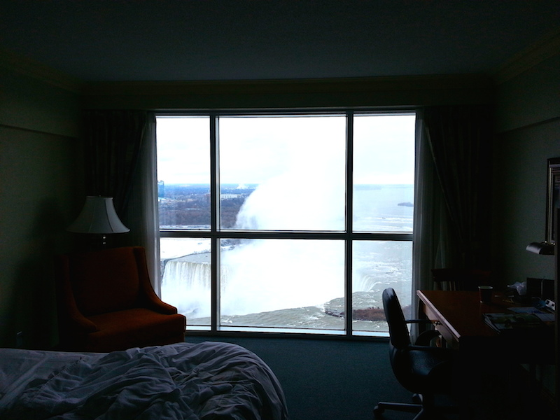 niagara falls from the hotel room_2