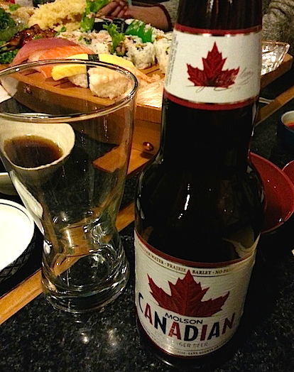 Molson canadian beer