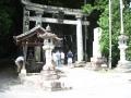 H27.7.25御嶽神社(里社本社)鳥居@IMG_2830