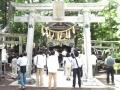 H27.7.25八海山神社拝殿@IMG_2866
