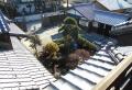 離れの3階から見た前庭