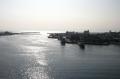 城ヶ島大橋から見る三崎漁港(三浦市)