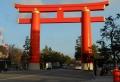 平安神宮の大鳥居(京都)