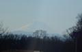 土手から見る富士山②