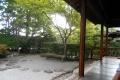 双樹亭から見る庭