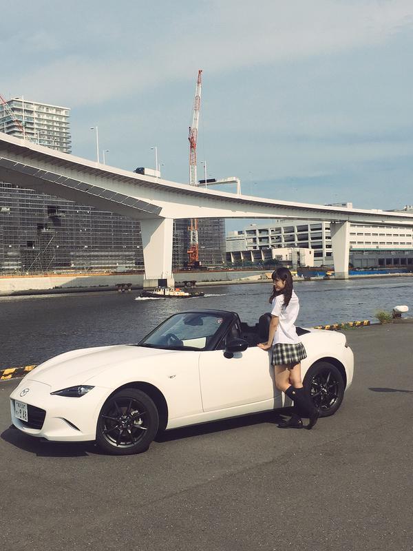 NMB48渋谷凪咲がロードスターをおねだりwww