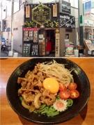 高円寺 肉玉そばおとど高円寺店 冷し盛りそば(2015/7/21)