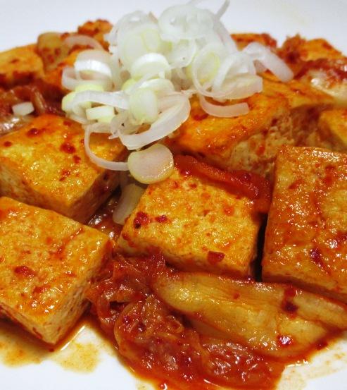 キムチ豆腐 B
