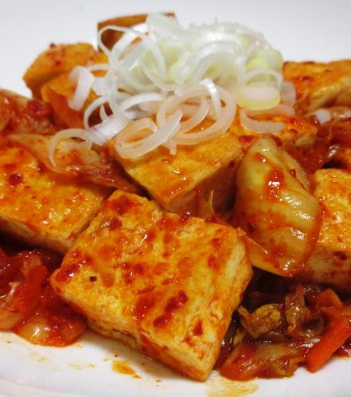 キムチ豆腐 大