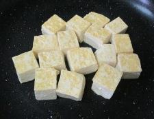 キムチ豆腐 調理①