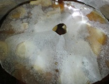 ブリあらとがんもどきの生姜煮 調理②