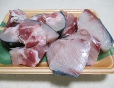 ブリあらとがんもどきの生姜煮 材料①