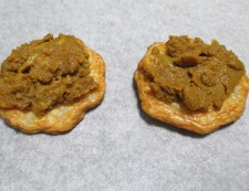 玉ねぎ天のカレーチーズ焼き 調理②
