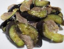 ナスと豚肉のネギ塩ダレ炒め 調理⑤