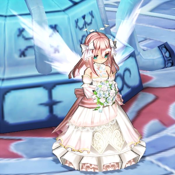 憧れの花嫁さん