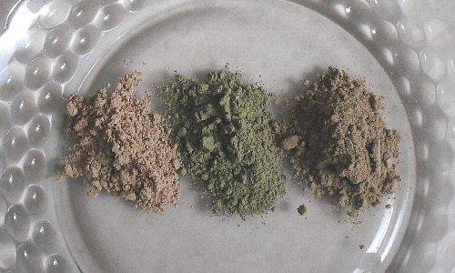 ハーブ粉3種