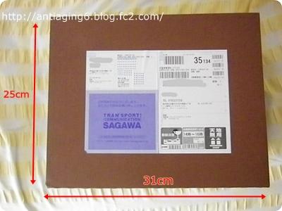 MTG PAO(パオ)のマウスピース、やたらと大きな箱に入って届いた…