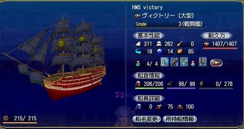 AOIさんのオニュー船、ヴィクトリー!^^