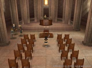 教会でお祈り2