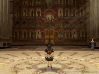 教会でお祈り1