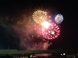 狛江の花火1