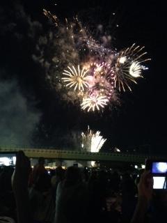 狛江の花火2