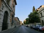 フィレンツェ朝の散歩