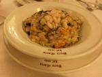 豆の煮込みのスープ