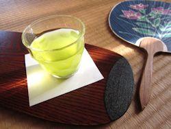 冷茶と団扇 - コピー