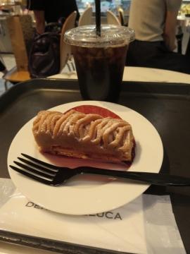 ケーキセット 800円(税別)