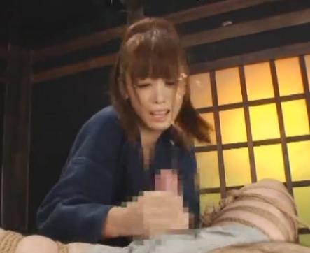 剣道女子がM男の対戦相手に汗ダクな足裏で痴女責めの脚フェチDVD画像6