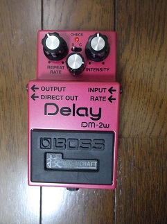 BOSS WAZA CRAFT Delay DM-2w