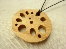 竹製れんこんネックレス