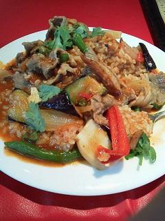 150808チャオバンブー、ラムと野菜のカレー
