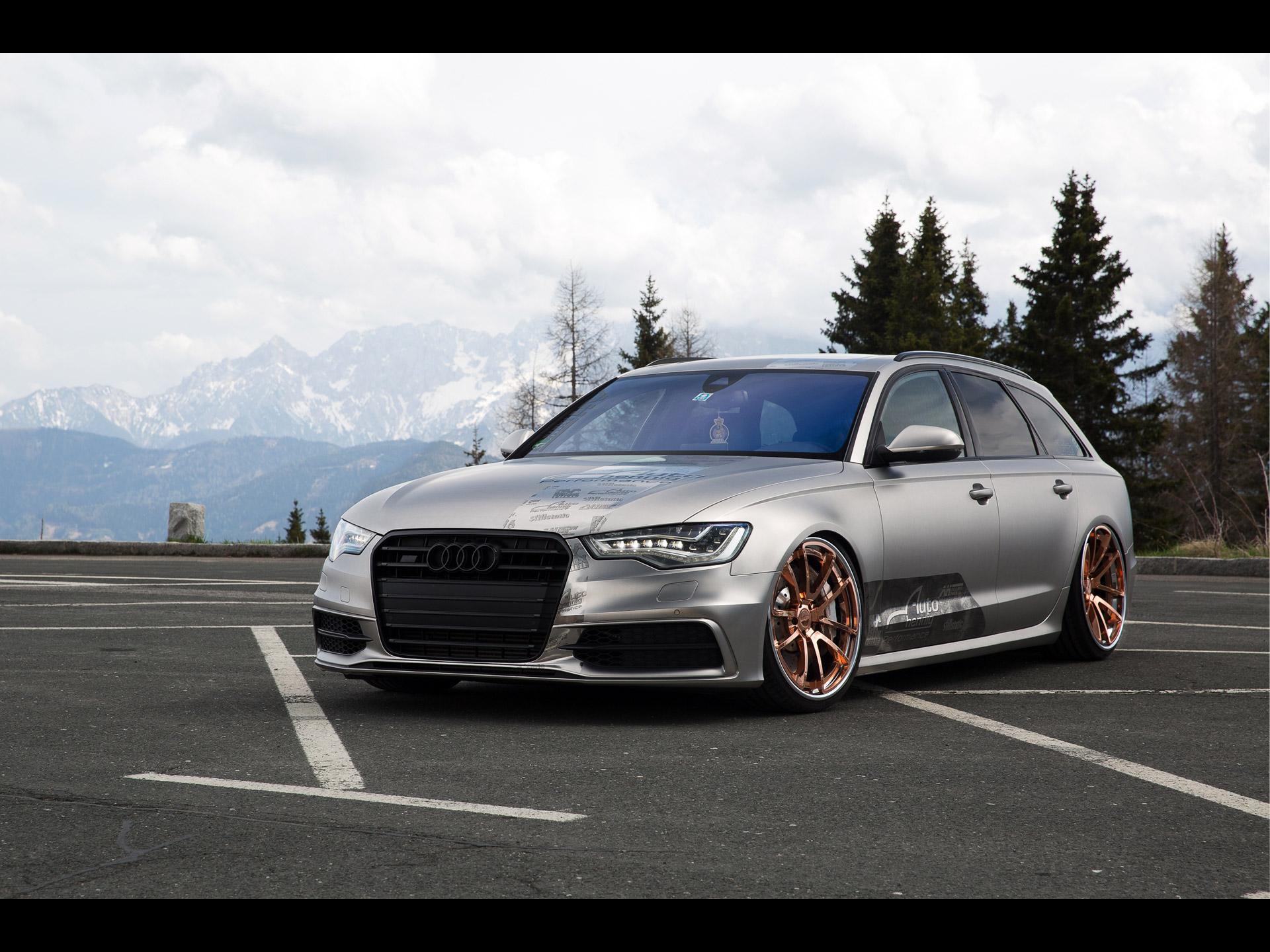 Rotiform Audi A6 Avant 2015 アウディに嵌まる 壁紙画像ブログ